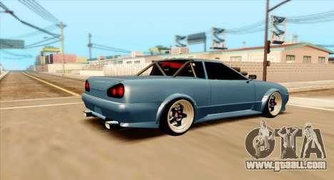 Elegy pickup v2.0 for GTA San Andreas left view