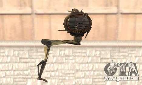 Robo Fallout 3 for GTA San Andreas