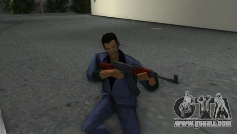 Vz-58 for GTA Vice City