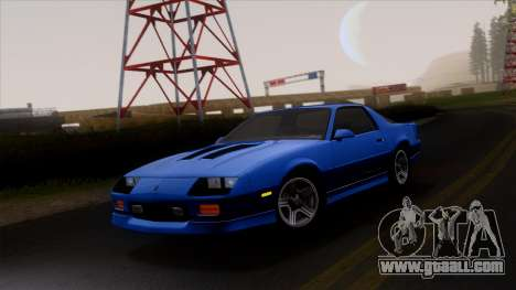 Chevrolet Camaro IROC-Z 1990 for GTA San Andreas wheels
