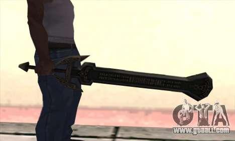 Sword of Darknut for GTA San Andreas second screenshot