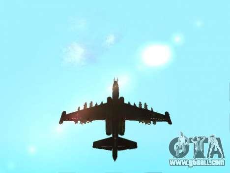 Su 25 for GTA San Andreas right view