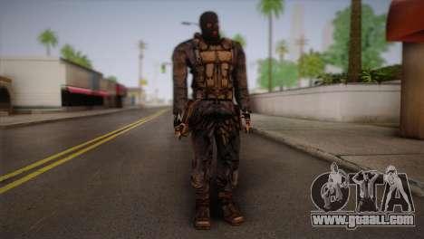 A mercenary from s. t. a. l. k. e. R for GTA San Andreas