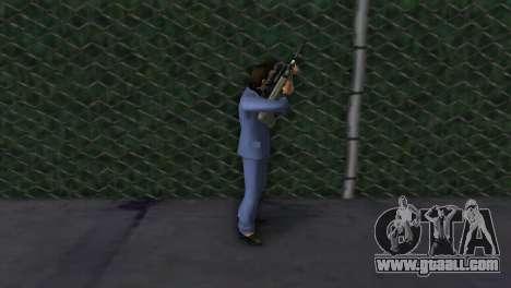 Steyr AUG for GTA Vice City forth screenshot