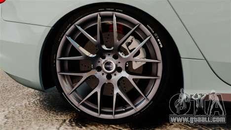 Audi RS4 Avant for GTA 4 back view