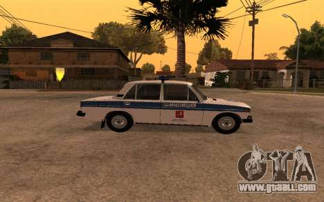 VAZ 2106 DPS for GTA San Andreas left view