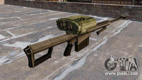 Sniper rifle Barrett M82A3 for GTA 4