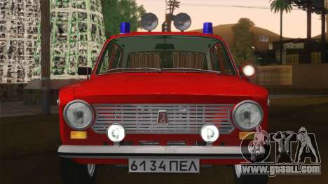 VAZ 21011 fire protection for GTA San Andreas inner view