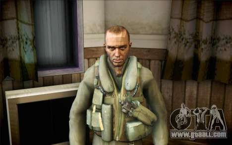 Nicholas of Call of Duty MW2 for GTA San Andreas
