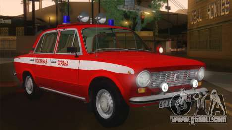 VAZ 21011 fire protection for GTA San Andreas left view