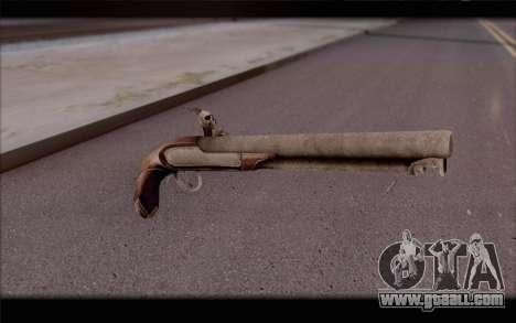 Flint-Lock Pistol for GTA San Andreas