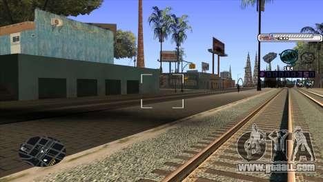 C-HUD Cesar Weezy for GTA San Andreas third screenshot