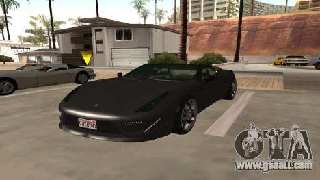 Carbonizzare of GTA 5 for GTA San Andreas