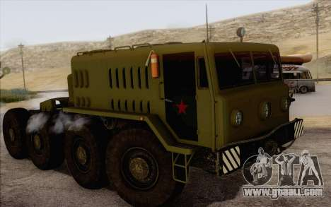 535 MAZ Military for GTA San Andreas