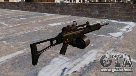 MG36 HK assault rifle for GTA 4 second screenshot