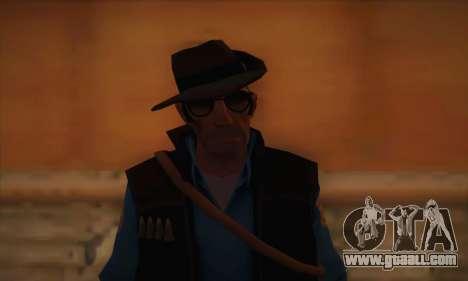 Skin sniper of Team Fortress 2 for GTA San Andreas third screenshot