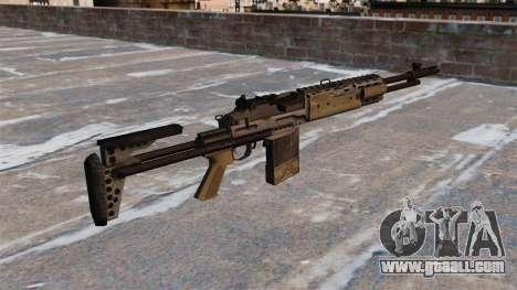 Automatic rifle Mk 14 EBR for GTA 4 second screenshot