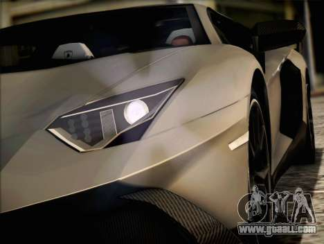 Lamborghini Aventador LP720 for GTA San Andreas left view
