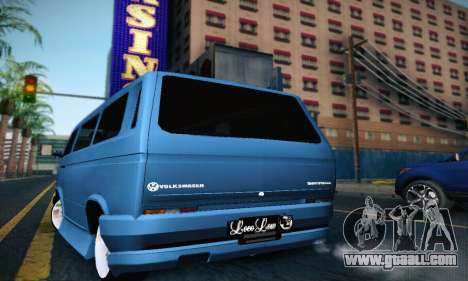 Volkswagen Transporter T2 Tuning for GTA San Andreas right view