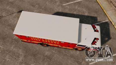 Hazmat Truck LCFR [ELS] for GTA 4 right view