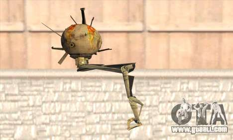 Robo Fallout 3 for GTA San Andreas second screenshot