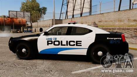 Dodge Charger 2010 Police [ELS] for GTA 4 left view