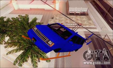 Fun Maverick for GTA San Andreas inner view