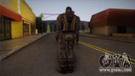 A mercenary from s. t. a. l. k. e. R for GTA San Andreas second screenshot