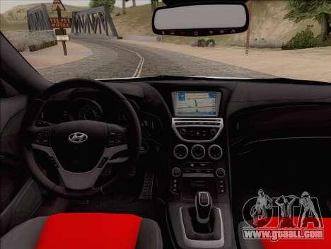 Hyundai Genesis Stance for GTA San Andreas right view