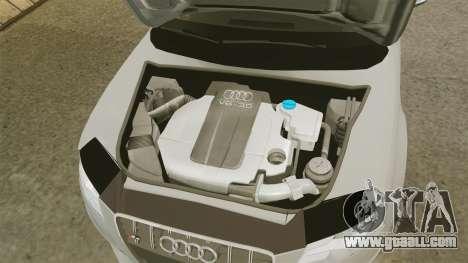 Audi S4 2010 for GTA 4 inner view