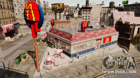 Eating McDonalds and Taco Bell for GTA 4 second screenshot