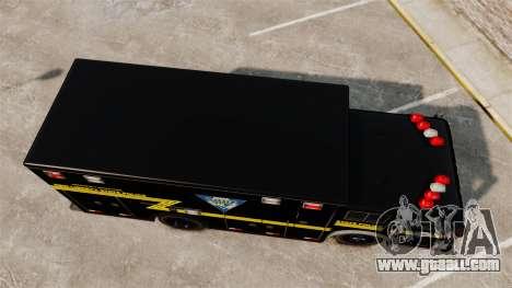 Hazmat Truck NLSP Emergency Operations [ELS] for GTA 4 right view