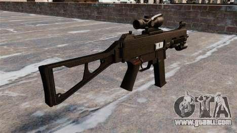 UMP45 submachine gun for GTA 4 second screenshot