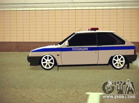 VAZ 2108 DPS for GTA San Andreas back left view