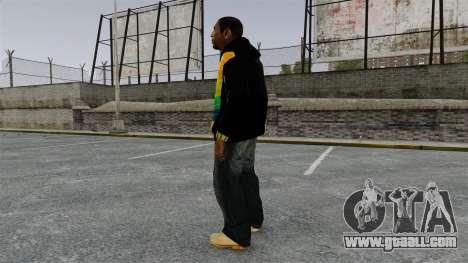 Black sweatshirt for Playboy X for GTA 4 second screenshot