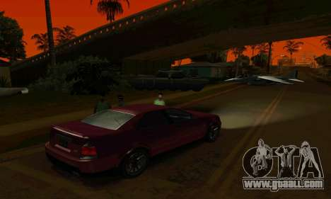Presidente of GTA IV for GTA San Andreas back view