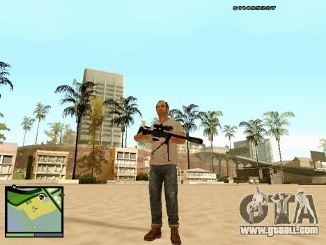 L115A3 Sniper Rifle for GTA San Andreas third screenshot