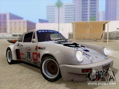 Porsche 911 RSR 3.3 skinpack 1 for GTA San Andreas engine