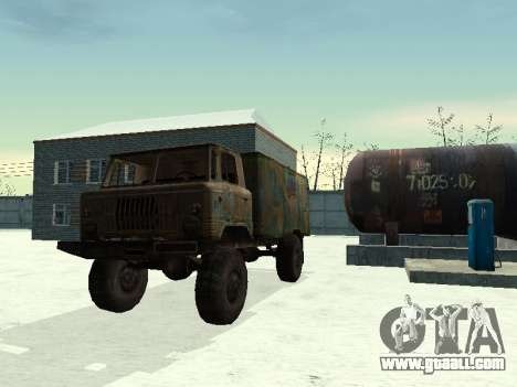 GAZ 66 for GTA San Andreas right view