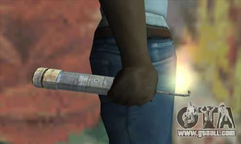 A Stick of dynamite from the Metro 2033 for GTA San Andreas third screenshot