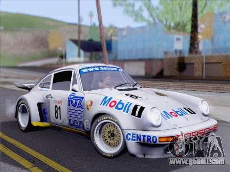 Porsche 911 RSR 3.3 skinpack 1 for GTA San Andreas
