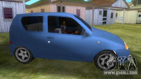 Fiat Seicento for GTA Vice City left view