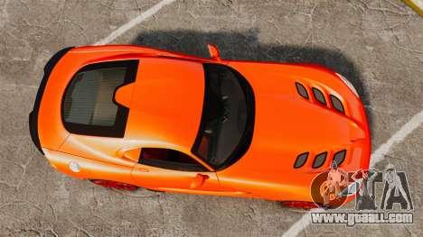Dodge Viper SRT TA 2014 for GTA 4 right view