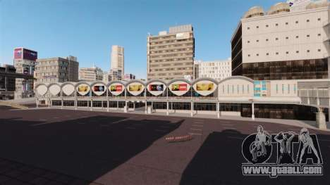 Location Of Shibuya for GTA 4 second screenshot