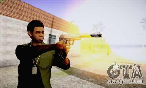 Lamar Davis GTA V for GTA San Andreas fifth screenshot