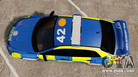 Subaru Impreza WRX STI 2011 Police [ELS] for GTA 4 right view
