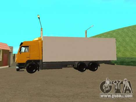 MAZ 6312A8 for GTA San Andreas left view