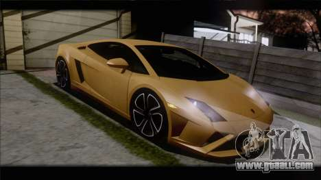 Lamborghini Gallardo LP560-4 Coupe 2013 V1.0 for GTA San Andreas