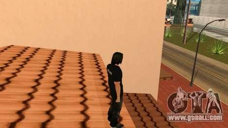 High-Quality Skin STAFF for GTA San Andreas fifth screenshot