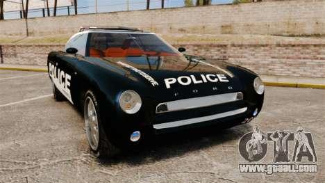 Ford Forty Nine Concept 2001 Police [ELS] for GTA 4